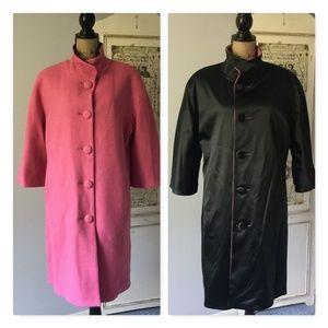 Isaac Mizrahi for Target Reversible Coat Sz XL